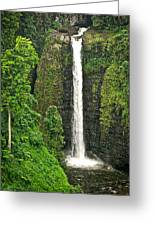 Samoan Falls 2 Greeting Card