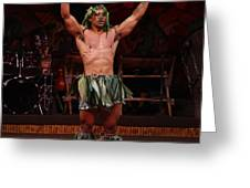Samoan Warrior Greeting Card