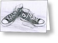 Sam's Shoes Greeting Card