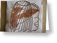 Samson - Tile Greeting Card