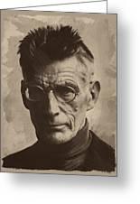 Samuel Beckett 1 Greeting Card