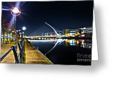 Samuel Beckett Bridge 2 Greeting Card