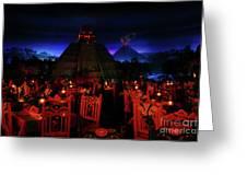 San Angel Inn Mexico Greeting Card