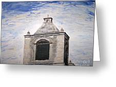 San Antonio Belltower Greeting Card