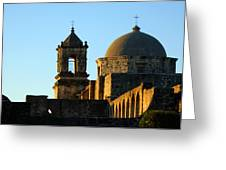 San Antonio Mission Greeting Card