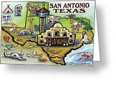 San Antonio Texas Greeting Card