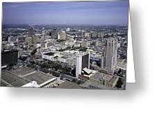 San Antonio Texas Skyline Greeting Card
