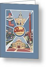 San Antonio's Pearl Greeting Card