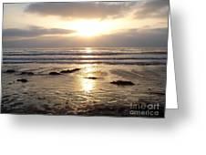 San Diego 4 Greeting Card