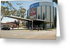 San Diego Air And Space Museum Greeting Card