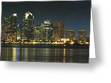 San Diego Cityscape Greeting Card by Mike McGlothlen