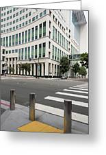 San Diego Hall Of Justice Greeting Card
