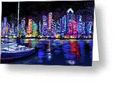 San Diego Harbor Greeting Card