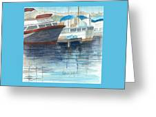 San Diego Mission Bay Greeting Card