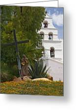San Diego Mission Bells Greeting Card