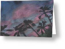 San Diego Palms Greeting Card