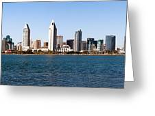 San Diego Panorama Greeting Card