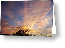 San Diego Sunsrise 1 7/12/15 Greeting Card