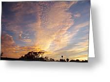 San Diego Sunsrise 3 7/12/15 Greeting Card