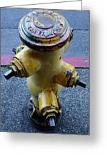 San Fran Hydrant Greeting Card