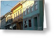 San Fran Light Greeting Card