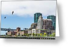 San Francisco Waterfront Greeting Card