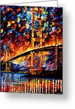 San Francisco Golden Gate Art Print By Leonid Afremov