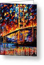 San Francisco - Golden Gate Greeting Card