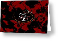 San Francisco 49ers 1b Greeting Card