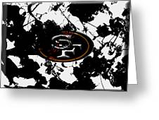San Francisco 49ers B1 Greeting Card