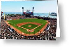 San Francisco Ballpark Greeting Card