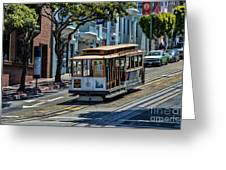San Francisco, Cable Cars -2 Greeting Card