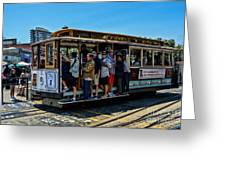 San Francisco, Cable Cars -3 Greeting Card