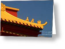 San Francisco California China Town Greeting Card