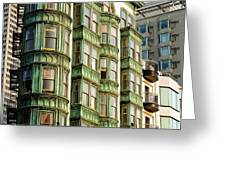 San Francisco Color Greeting Card