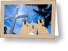 San Francisco De Asis - Rancho De Taos Greeting Card