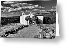 San Francisco De Assisi, Golden, New Mexico, March 11, 2017 Greeting Card