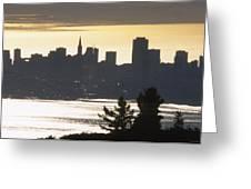 San Francisco - From Tamalpais East Greeting Card