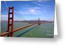San Francisco Golden Gate Bridge Greeting Card