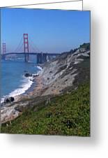 San Francisco - Golden Gate Bridge Greeting Card