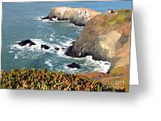 Marin Headlands Bunker Greeting Card