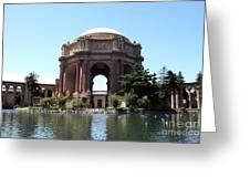 San Francisco Palace Of Fine Arts - 5d18107 Greeting Card