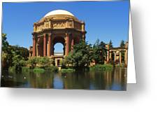 San Francisco - Palace Of Fine Arts Greeting Card