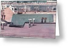 San Francisco Rooftops Greeting Card
