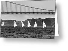 San Francisco Seascape Greeting Card