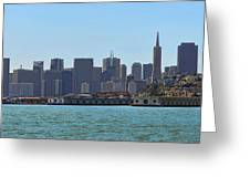 San Francisco Skyline -1 Greeting Card