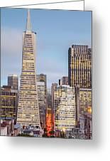 San Francisco Skyline 2 Greeting Card
