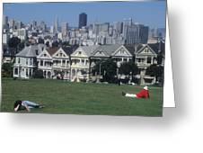 San Francisco Summer Greeting Card