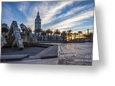 San Francisco Sunrise Greeting Card