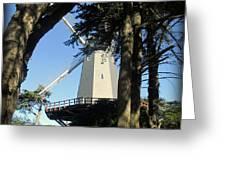 San Francisco Windmills Greeting Card
